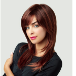revlon wig long red