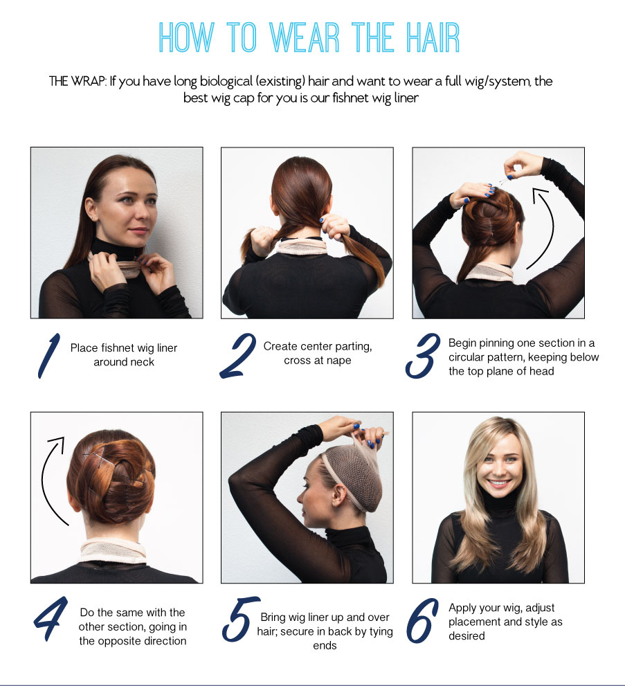 how to make a structure under a wig