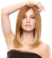 Jennifer by Jon Renau smartlace mono top human hair collection